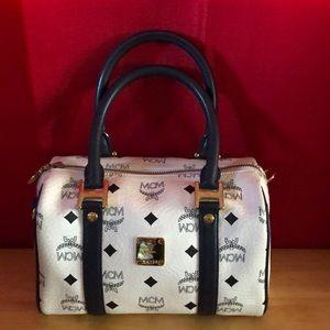 Authentic MCM Cross body Bag